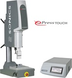 Sonics E-Press Ultrasonics plastic welder
